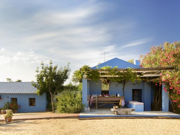 Blue House casa para alquilar costa vicentina alentejo con encanto