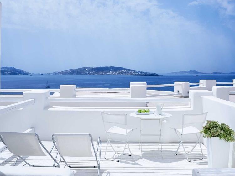 Rocabella Mykonos Art Hotel & SPA con encanto