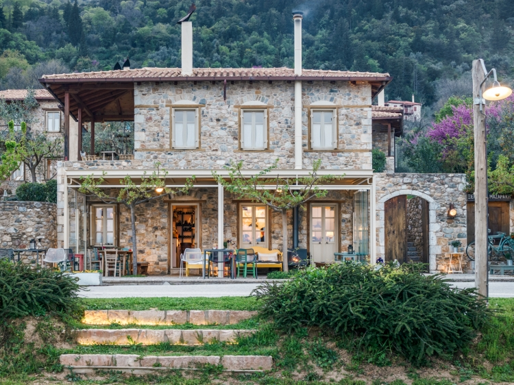 Mazaraki Guesthouse Peloponeso Hotel B&B con encanto