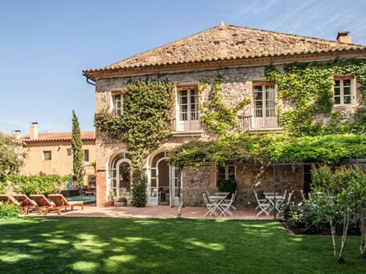 L'Hort de Sant Cebrià girona hotel boutique con encanto