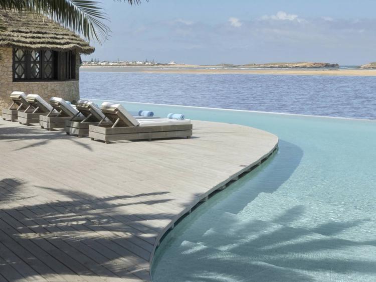 La Sultana Oualidia Hotel boutique design con encanto frente al mar