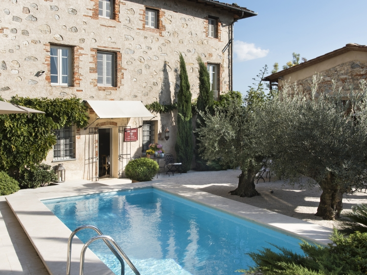 Villa Montebelo hotel b&b con encanto en Toscana