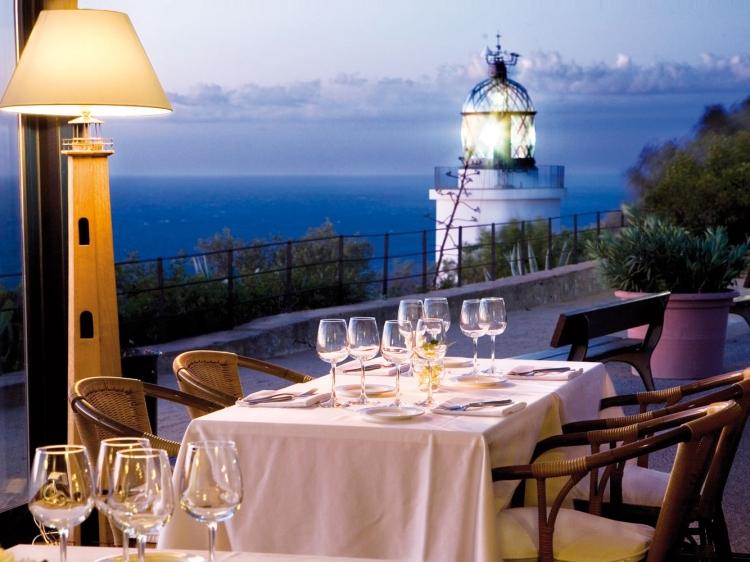 El Far de San Sebastian Costa Brava Cataluña Restuarant