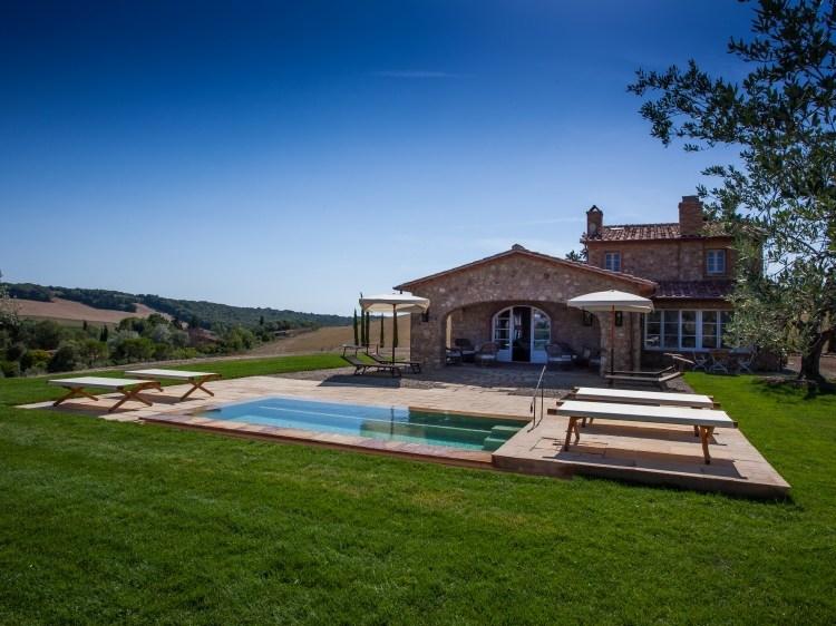 Villa La Salina Villa con Encanto en el Campo Bibbona Toscana Italia