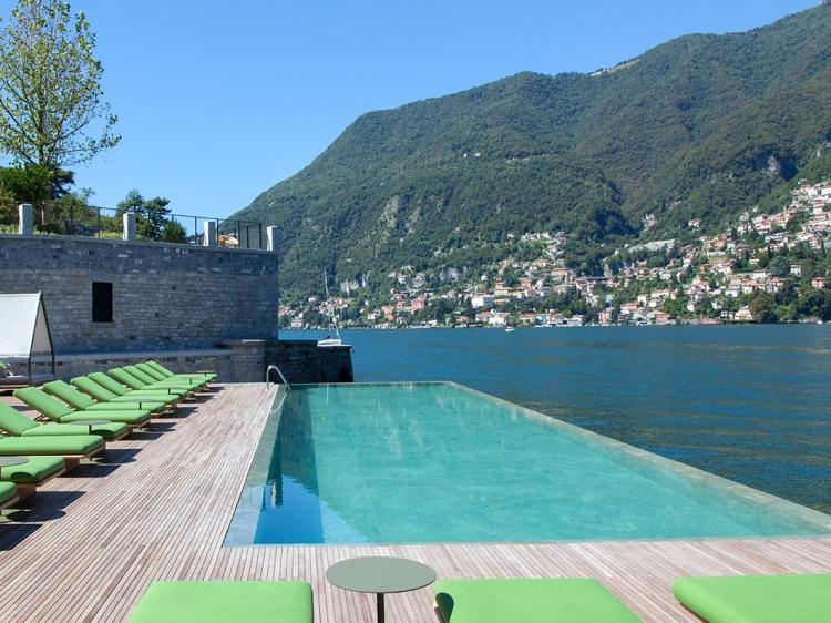 il Sereno Hotel con encanto en el lago como boutique