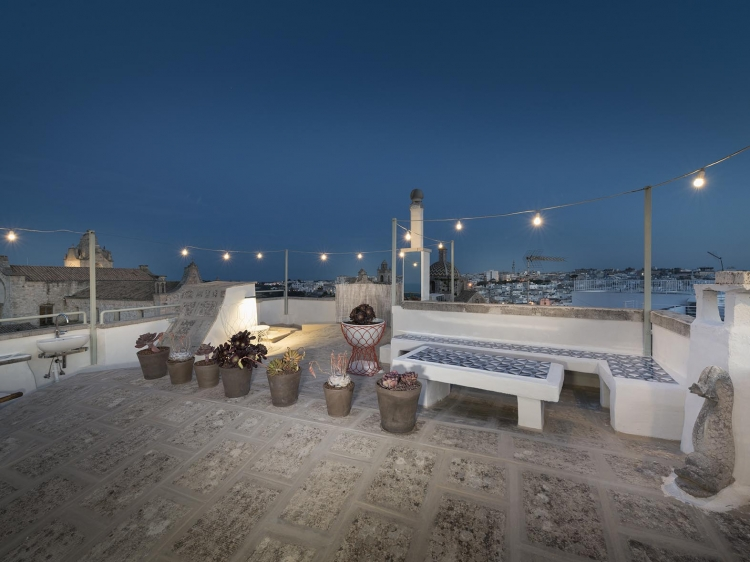 Terrace Torretta Alchimia Ostuni Puglia