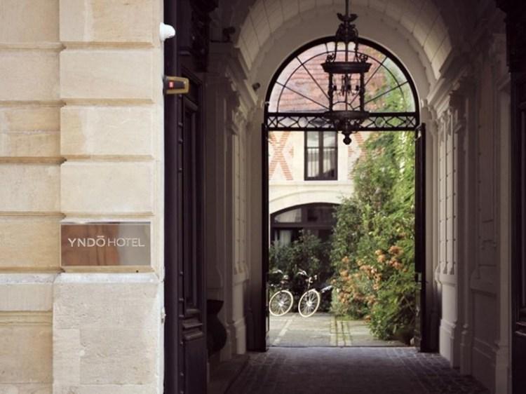 Yndo Hotel Bordeaux design boutique con encanto