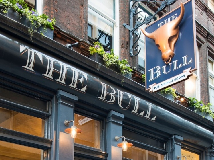 The Bull and The Hide  pub hotel b&b londres con encanto