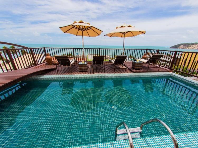 Pousada Vila Bonita Ponta Negra Natal Brazil con encanto hotel mar costa