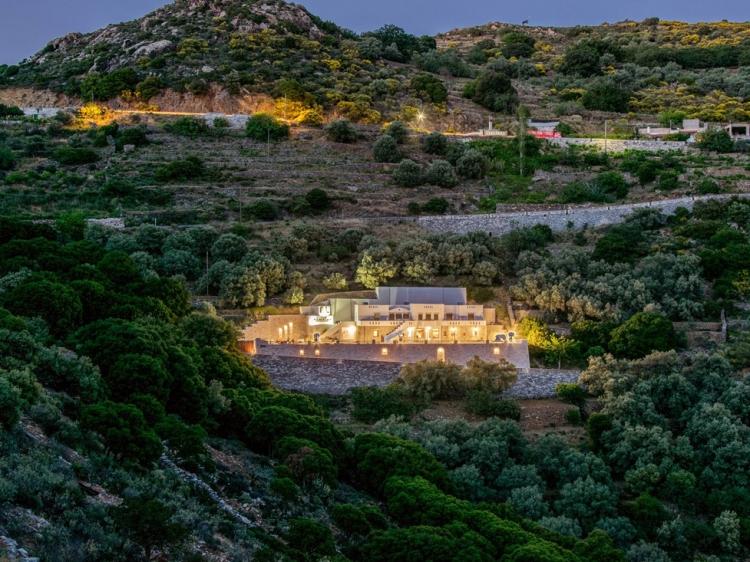 ELaiolithos Luxury Retreat autentico Naxos hotel rural