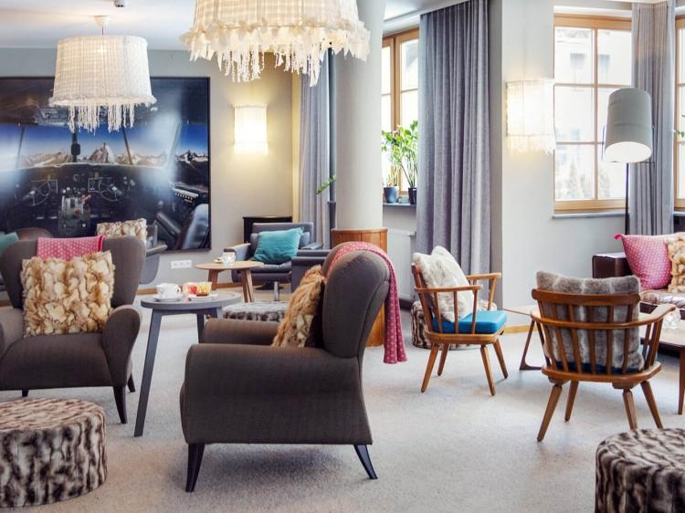 Hotel Valluga Sankt Anton en Arlberg hotel / Austria boutique design con encanto