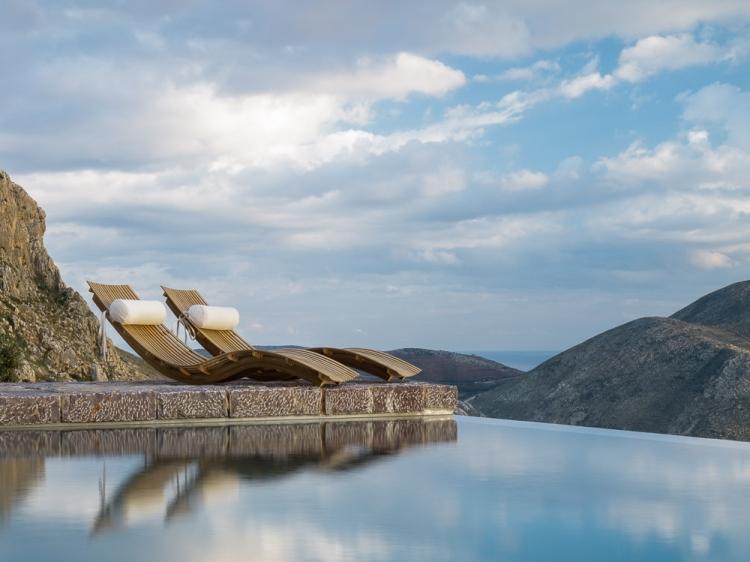 Tainaron Blue Hotel con encanto isla greccia