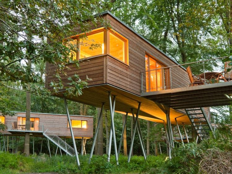tree hotel in europe germany