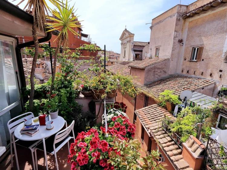 apartamento en el centro de roma con encanto