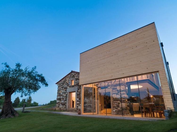norte de portugal quinta de fortunato para alquilar casa con encanto