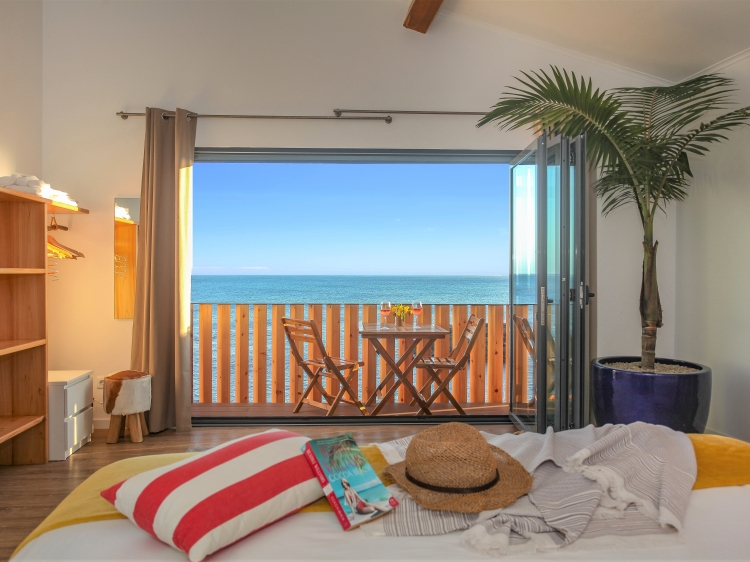 sea front bedroom