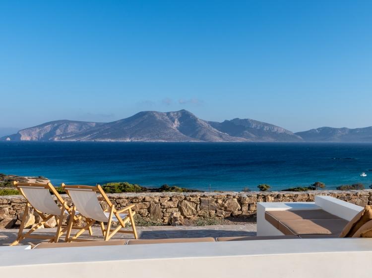 Escapada Eros Keros Koufonisi Cyclades hotel con encanto barato lujoso boutique con caracter pequeño