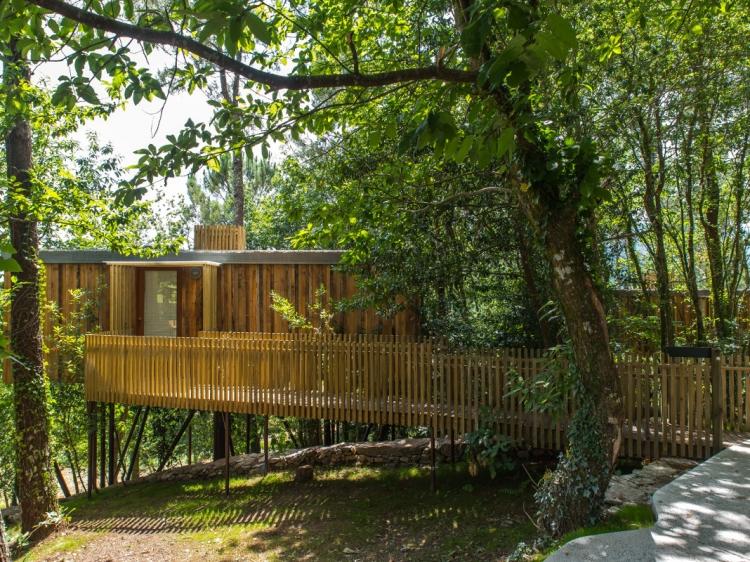 Cabañitas del Bosque Outes casas del árbol