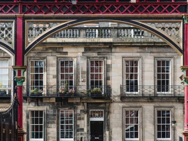 The Rutland Hotel Edinburgo hotel chic con encanto