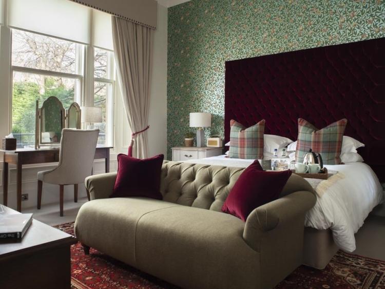 The Dunstane Houses Edinburgh Scotland hotel con encanto lujoso boutique con caracter pequeño