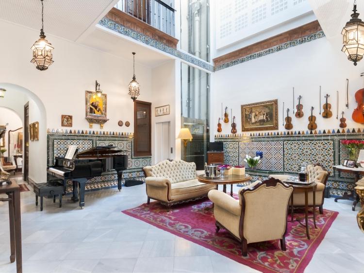 Hotel Amadeus Sevilla boutique con encanto romantico
