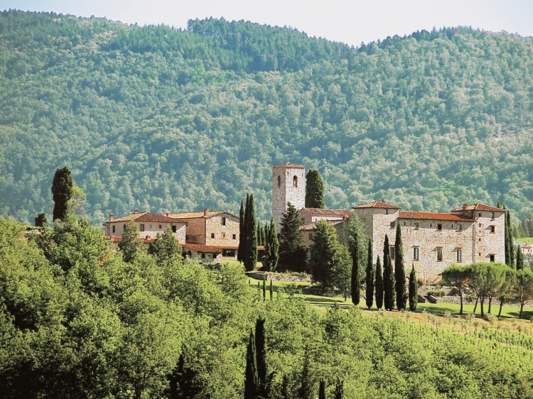 Castello di Spaltenna Tuscany Italy