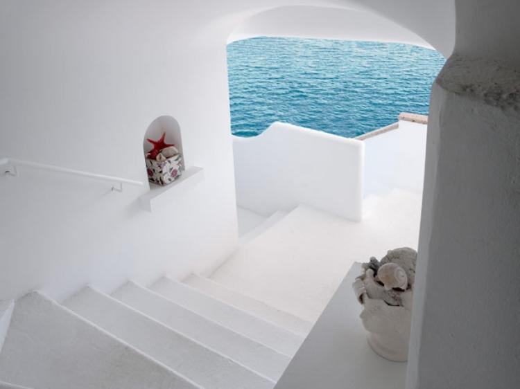 Maison La Minervetta Sorrento Italy Stairs Bay