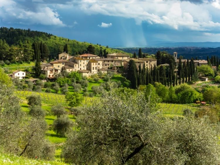 Castello de fonterutoli Castellina in Chianti hotel con encanto