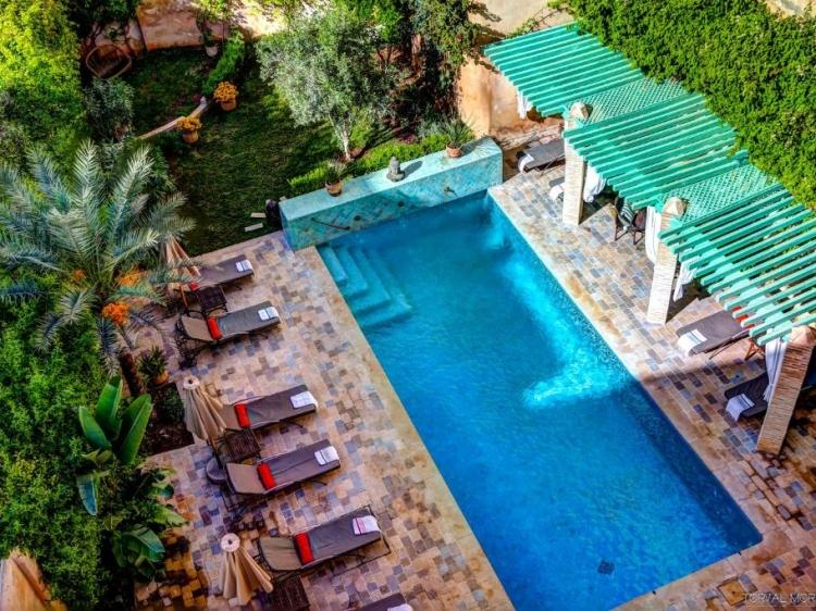 Riad Laaroussa Fès Morocco Pool