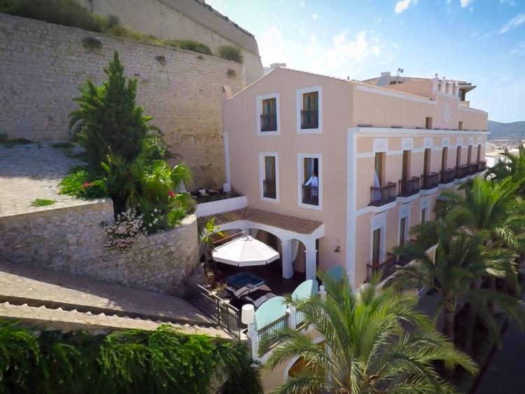 Hotel Mirador de Dalt Vila ibiza boutique hip con encanto