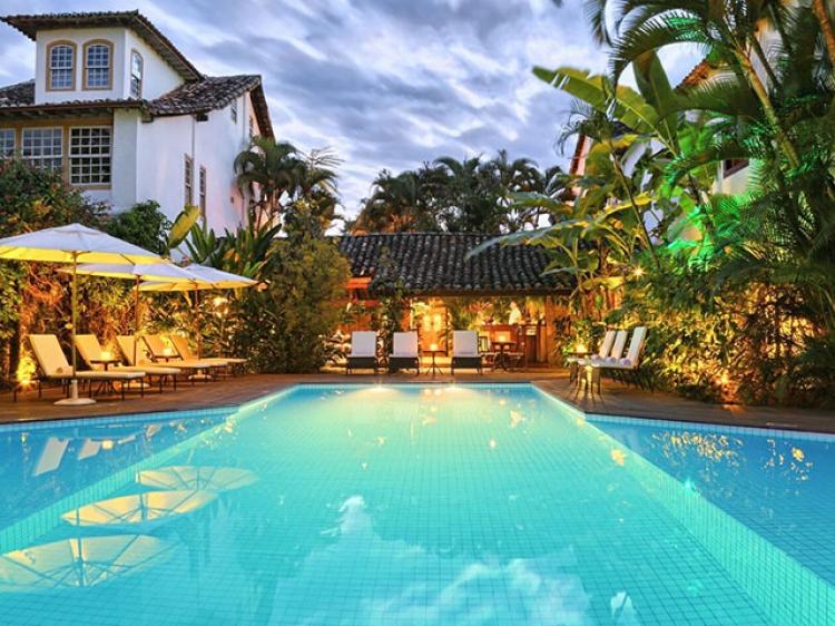 Pousada do Ouro Paraty boutique hotel con encanto romantico