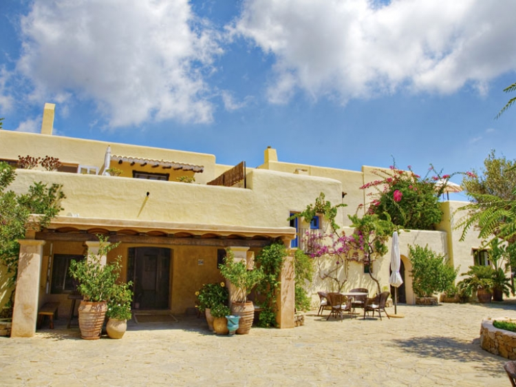 Hotel Can Talaias San Carlos Ibiza Formentera Spain Entrance