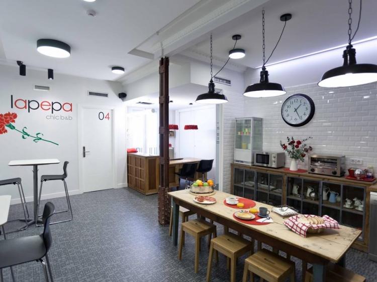 La Pepa Chic Bed & Breakfast Madrid con encanto