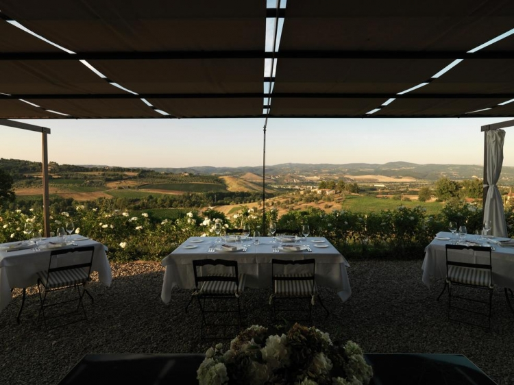 Locanda Palazzone Orvieto Great Dining