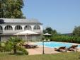 Château de Lamothe pool