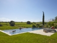 Luxury villas with private pools and vineyard views
