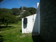 Home-made outdoor solar shower