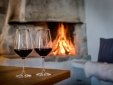 Romantic moments at your private kamin.
