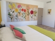 A living room is also at your disposal. You will find comfortable sofas, a large TV and many works of art!