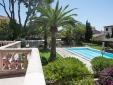 Vistas a la piscina y al jardín