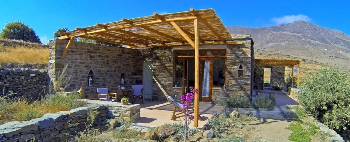 Tinos Ecolodge - Small Stone House