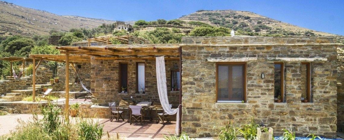 Tinos Ecolodge Big Stone House