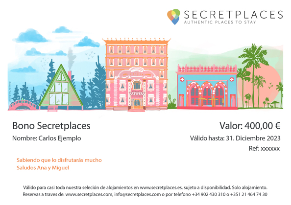 Secretplaces Gift Voucher
